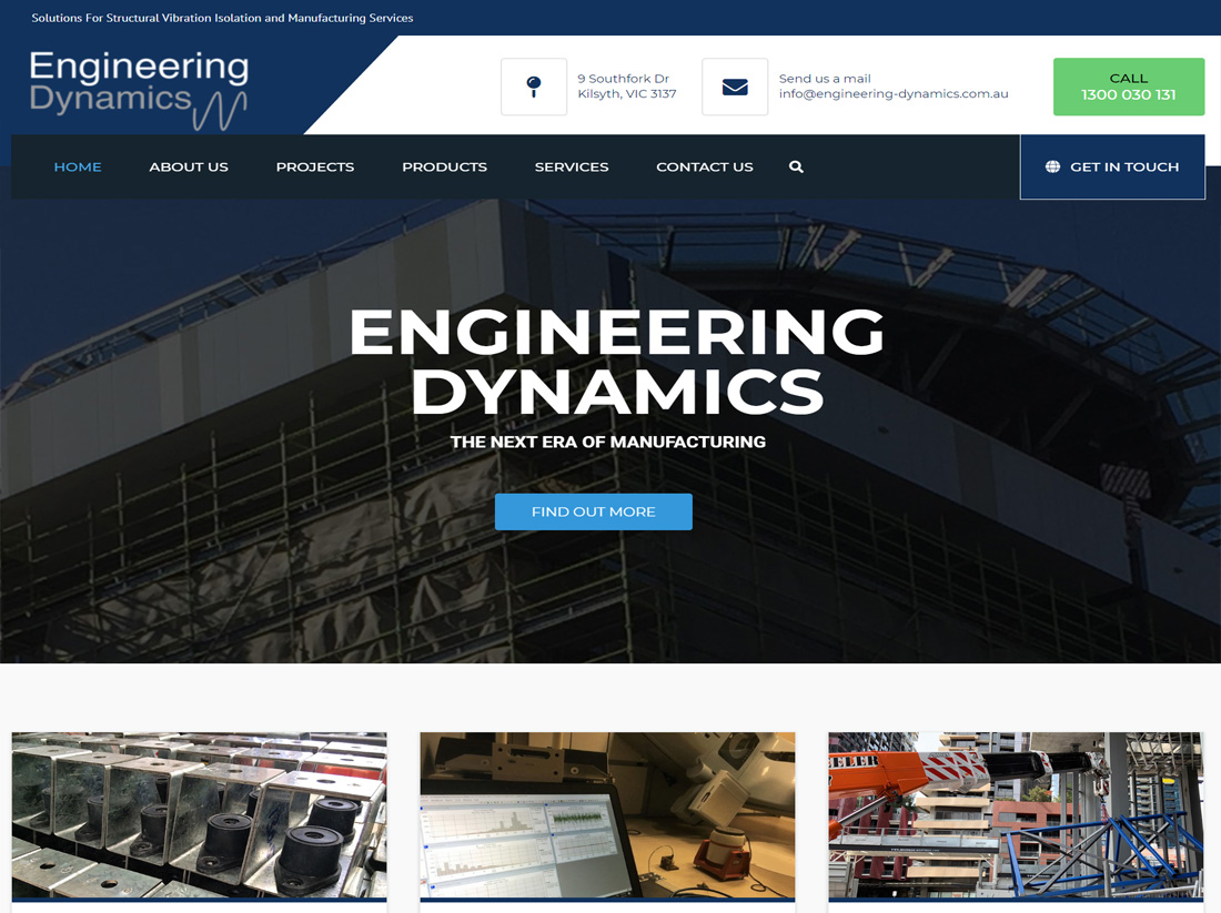Engineering Dynamics Website Project