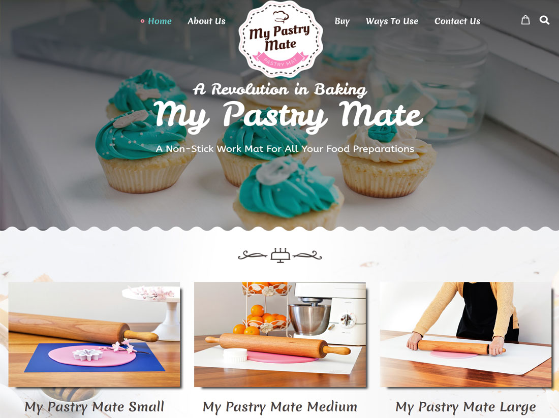 My Pastry Mate Website Project